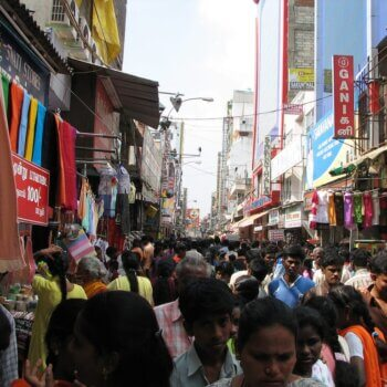 Shopping in Chennai, India